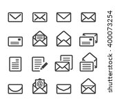 mail line icon | Shutterstock .eps vector #400073254