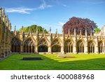Cloister Garden In Canterbury...