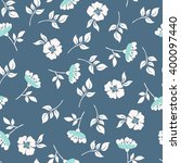 White Briar. Seamless Pattern