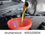 motor oil  car engine close up | Shutterstock . vector #400105834