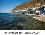 picturesque fishing village of... | Shutterstock . vector #400139194