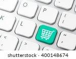 online shopping cart icon for e ... | Shutterstock . vector #400148674