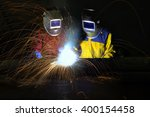 Industrial Workers Cutting And...