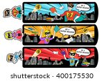 a vector illustration of super... | Shutterstock .eps vector #400175530