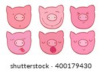 The Set Of Faces Of The Pigs