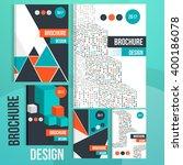 brochure design set. | Shutterstock .eps vector #400186078