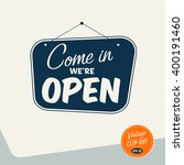 vintage style clip art   come... | Shutterstock .eps vector #400191460
