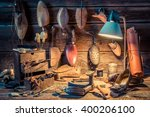Shoemaker Workshop With Tools ...