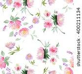 seamless watercolor pattern... | Shutterstock . vector #400211134