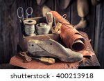 Small Shoemaker Workshop With...