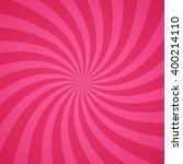 swirling radial pattern... | Shutterstock .eps vector #400214110