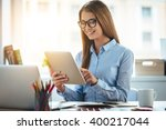 lets check my timetable ... | Shutterstock . vector #400217044