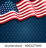 united states flag.  usa... | Shutterstock .eps vector #400227340