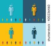 stick figure of a man | Shutterstock .eps vector #400236460