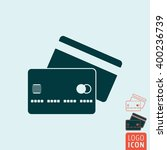 credit card icon. credit cards...