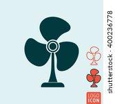 fan icon. room fan icon...