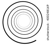 abstract spiral element....   Shutterstock .eps vector #400248169