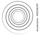abstract spiral element.... | Shutterstock .eps vector #400248199