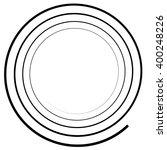 abstract spiral element....   Shutterstock .eps vector #400248226