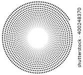abstract spiral element.... | Shutterstock .eps vector #400248370