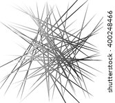 abstract chaotic lines pattern. ... | Shutterstock .eps vector #400248466