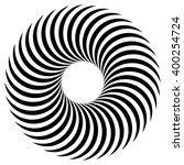 abstract spiral  vortex element.... | Shutterstock .eps vector #400254724