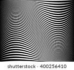 wavy dynamic irregular lines... | Shutterstock .eps vector #400256410