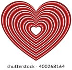 Geometric Heart Shape With...