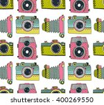 seamless pattern background... | Shutterstock .eps vector #400269550