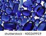 group of the blue sapphires. | Shutterstock . vector #400269919