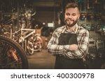 Stylish Bicycle Mechanic...