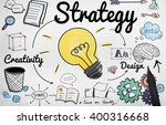 strategy ideas mission... | Shutterstock . vector #400316668
