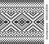 Seamless Pattern With Tribal...