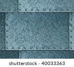 brushed metallic background | Shutterstock . vector #40033363