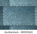 brushed metallic background | Shutterstock . vector #40033363