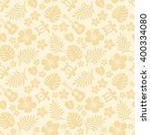 summer tropical background.... | Shutterstock .eps vector #400334080