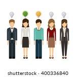 think people design  | Shutterstock .eps vector #400336840