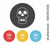 skull icon | Shutterstock .eps vector #400342330