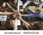 business team celebration party ... | Shutterstock . vector #400343218
