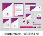 corporate identity template for ... | Shutterstock .eps vector #400346170