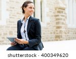 portrait of business woman...   Shutterstock . vector #400349620