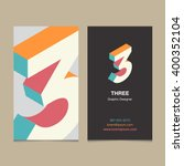 """logo number """"3""""  with business... 