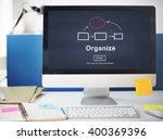 corporate organization chart... | Shutterstock . vector #400369396
