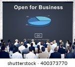 open for business partnership... | Shutterstock . vector #400373770