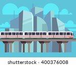 Sky Train  Subway Landscape...