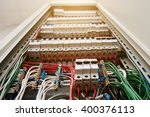 close up view of electrical... | Shutterstock . vector #400376113