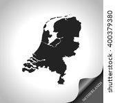 map of netherlands | Shutterstock .eps vector #400379380