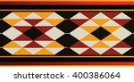 triangles sadu style weaving... | Shutterstock .eps vector #400386064