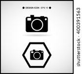 camera icon set great for any... | Shutterstock .eps vector #400391563