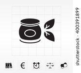 vector cream icon | Shutterstock .eps vector #400391899
